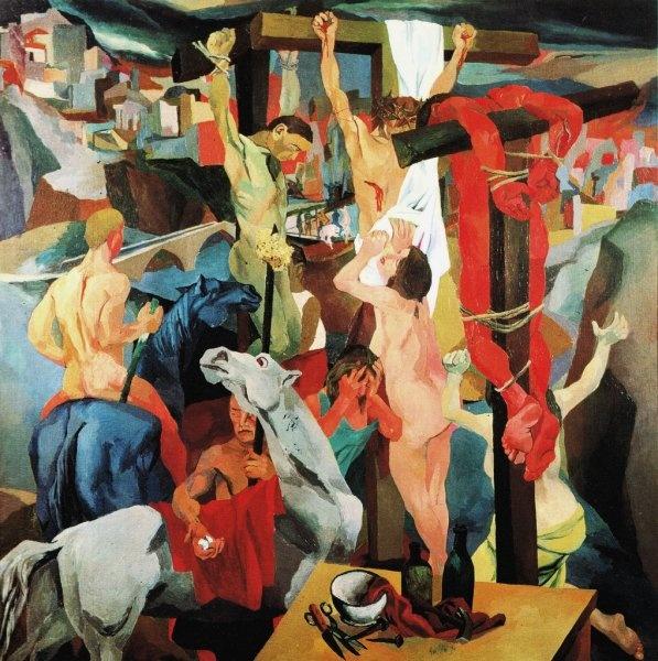 Renato Guttuso - Crocifissione