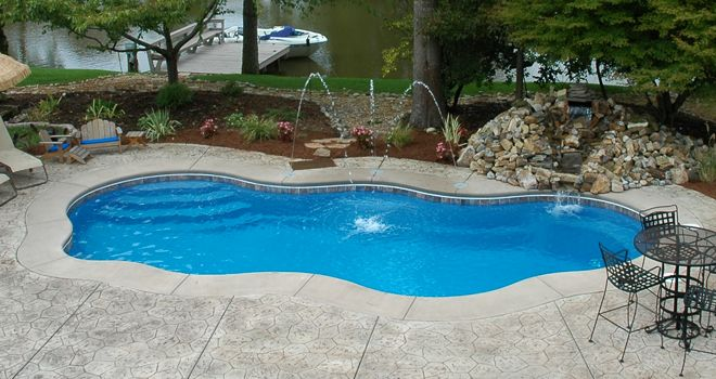 1000 Ideas About Fiberglass Inground Pools On Pinterest
