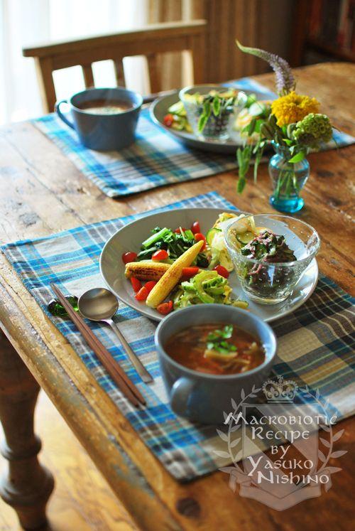 夏野菜のワンプレートランチ