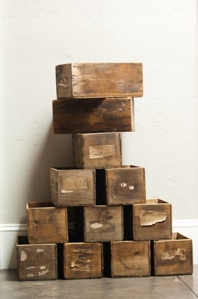 It's hard not to just love wooden boxes.
