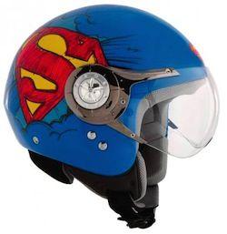 superman motorcycle helmet | AXO Motorcycle Helmets Teams Up With Warner Bros from Bikes in the ...