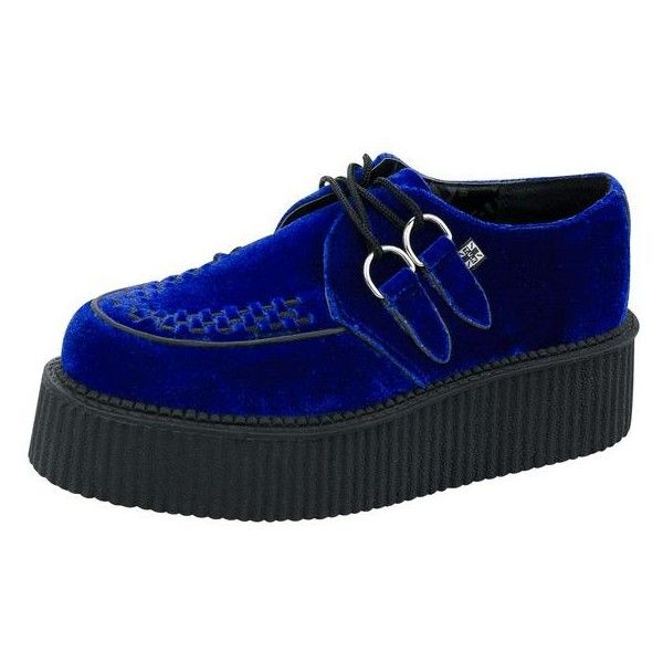 Women's Creepers on Tukshoes.com ❤ liked on Polyvore featuring shoes, pointy toe shoes, wide fit shoes, pointed toe shoes, creeper shoes and wide width shoes