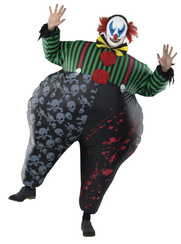 Halloween inflatable clown costume - £25