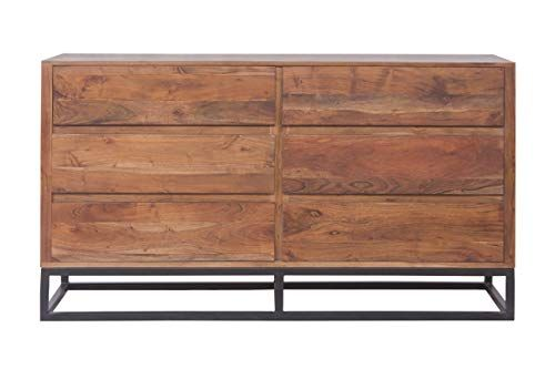 Tup The Urban Port Upt 182996 Modern Acacia Wood Dresser Or