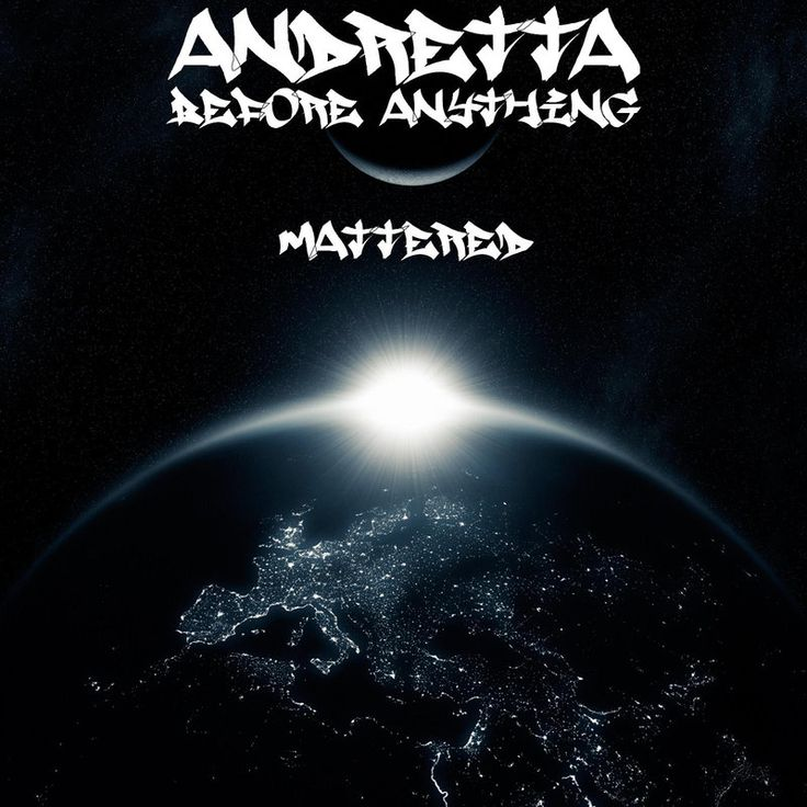 New #Release Before Anything Mattered - Andretta
