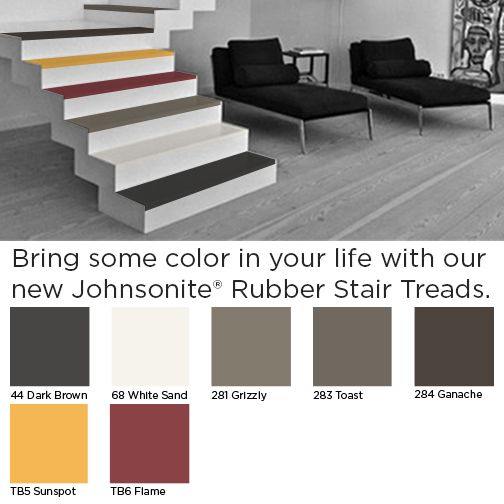 New Designer Colors Now Available Johnsonite Rubber