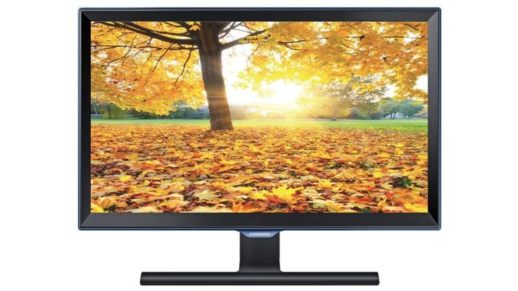 """Samsung 23.6"""" Series 3 Full HD PLS Monitor - Black - Monitors 