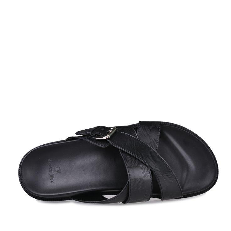 Dream Box Бо июня 2013 Новая Англия летом твердого толстая корка увеличилось слово ступит кожаные сандалии и тапочки - Taobao