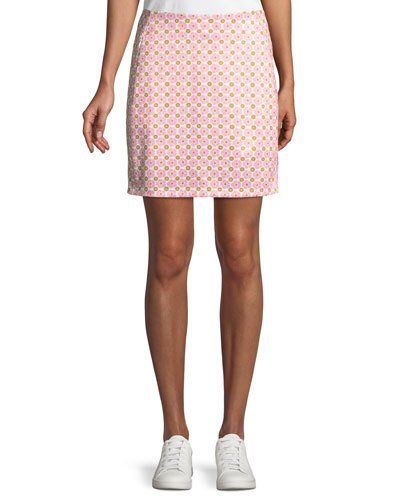 70c7b82eec Tory Sport Printed A-Line Golf Skirt in 2019 | Products | Golf ...