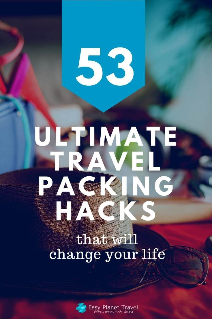 Here are the best travel packing hacks ever, that will completely change the way you pack your backpack or luggage, forever!