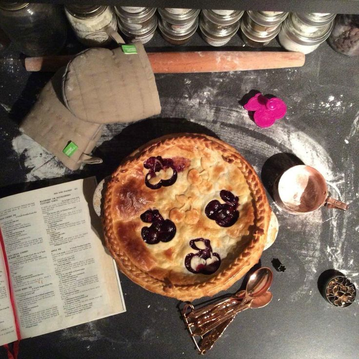 Cherry pie. Lattice.