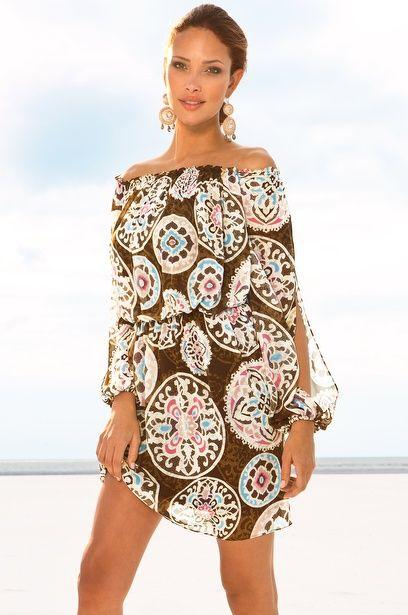 Beautiful beach dress — #dress. Brought to you by SunGoddess Magazine: Igniting the Powerful Goddess WIthin http://sungoddessmagazine.com