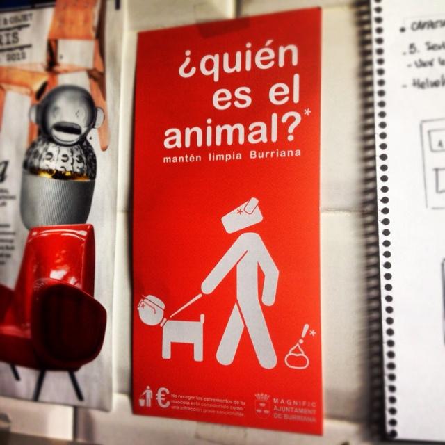 """Campaña concienciación """"Quién es el animal?."""