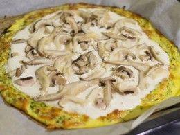 Zvířátkový den - Cuketová pizza bez múky s hlivou a šampiónmi