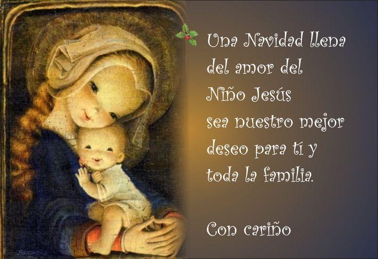 Frases y oraciones cristianas para la navidad http www - Tarjetas navidenas cristianas ...