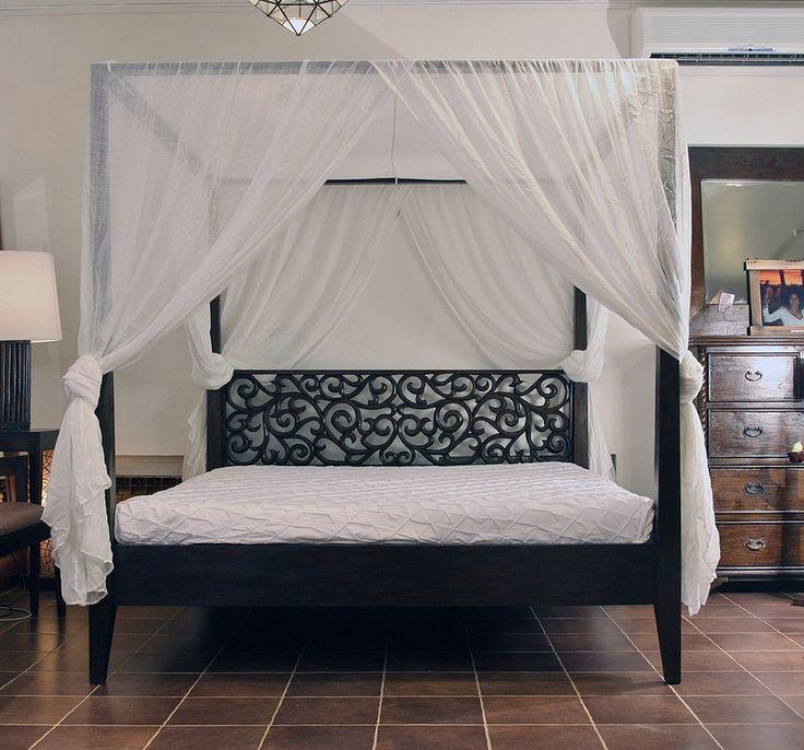 Кровати с балдахином   примеры оформления спальни