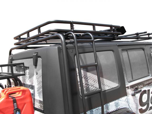 jeep cargo rack ladder | Garvin Industries Adventure Rack Ladder for 07-15 Jeep® Wrangler ...