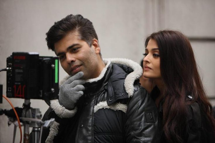 Check Out: Quirky Karan and gorgeous Aishwarya during the making of ADHM's song Bulleya!