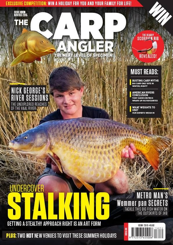 New issue of The Carp Angler features a great catch by Dan Herholdt.