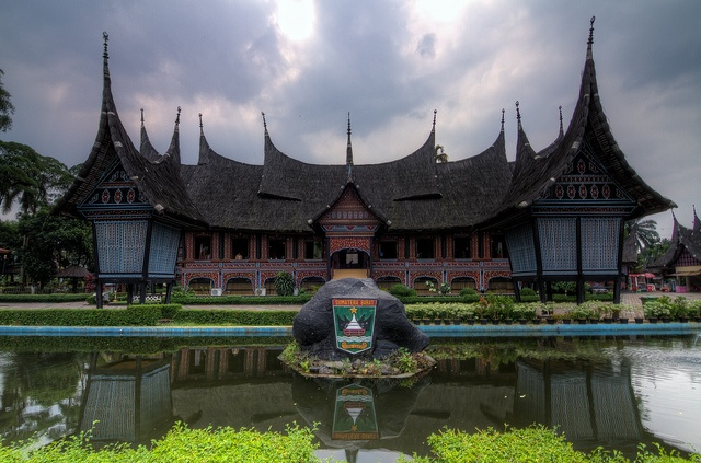 Note: Minangkabau house is a traditional house from Bukit Tinggi, West Sumatra. The people there have a local language called bahasa padang. Indonesia has many diversity of cultures and local languages. (PS: Sorry my friends since I am still traveling in Indonesia, I will reply to your stream as soon as I return to Japan)
