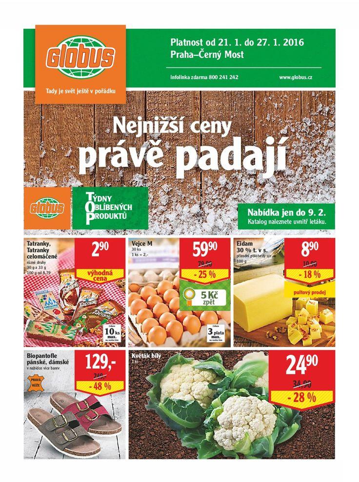 Akční nabídka 03.týden - Globus Praha - Černý Most