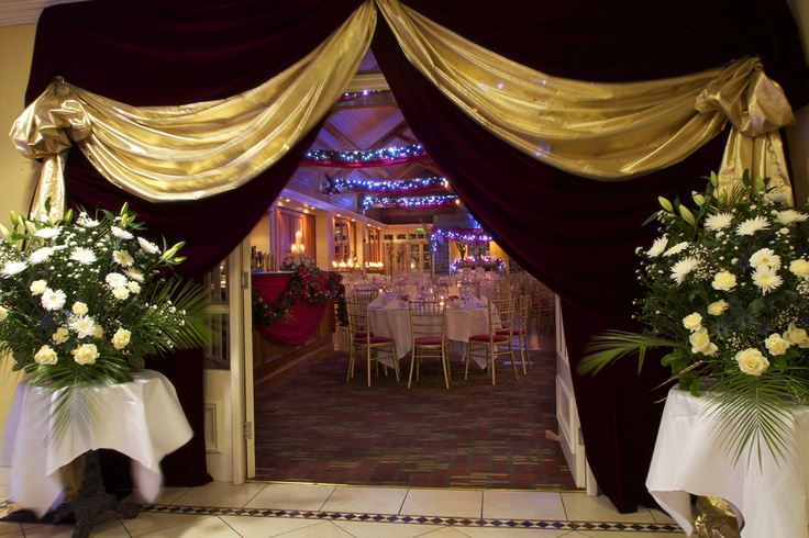 Christmas Weddings at Kendals in the Clubhouse - http://www.mountjuliet.ie/weddings/weddings-at-kendals-hunters-yard.php