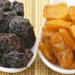 raisins secs et pression sanguine