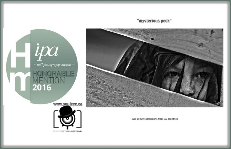 honorable mention in People, Portraits category for the International Photography Awards 2016 #photography #children #kids #images