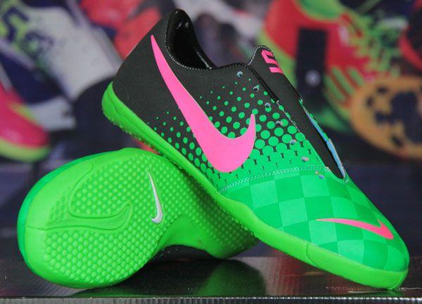 Sepatu Futsal Nike Elastico Hitam Hijau Rp 140.000  Pin BB : 277D5CC1 SMS : 0856 5879 0893 | call : 0821 7800 6207 http://sepatufutsalpremium.com/