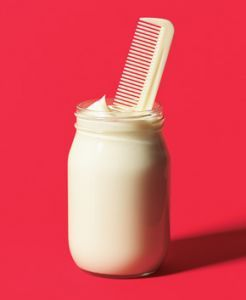Mayonnaise hair treatment. This is seriously amazing but I cannot stand the mayo dripping down my face for 30 minutes! I suppose it's worth it though.: Mayonnaise hair treatment. This is seriously amazing but I cannot stand the mayo dripping down my