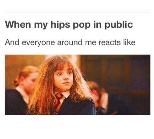 LOL! That face is so true! #dancerproblems