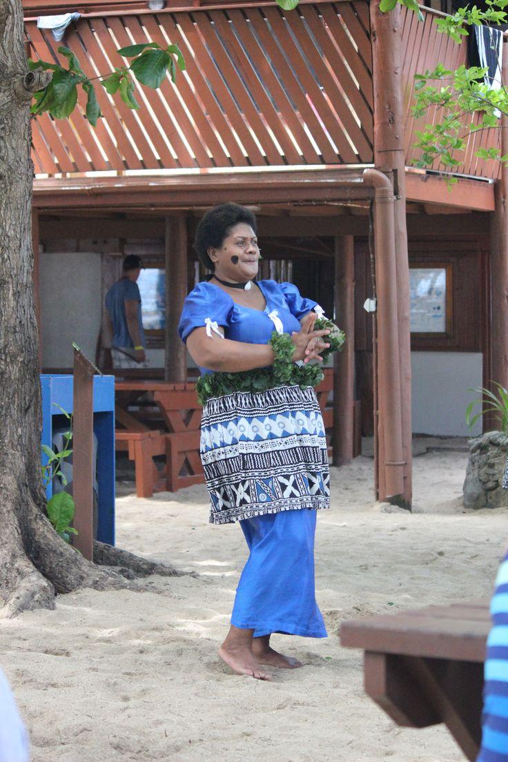 traditional Fijian dance