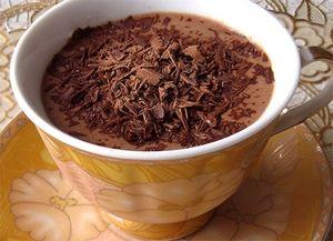 Рецепт горячего шоколада с какао