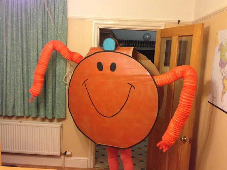 DIY Mr Tickle costume.