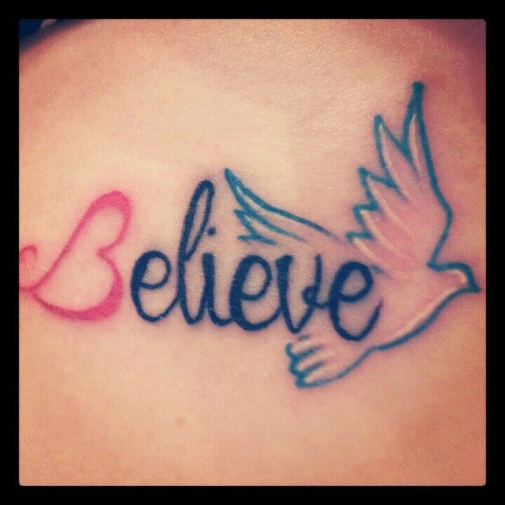 believe tattoo - Google Search | Tattoo ideas | Pinterest ...