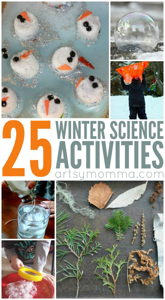 25 Winter Science Experiments for Kids
