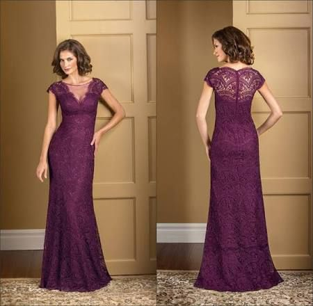long plum bridesmaid dresses with sleeves - Google Search