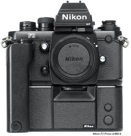 Nikon F3-HP with MD-4 drive. My best friend and tool of choice back in the day. (yes I still have it)