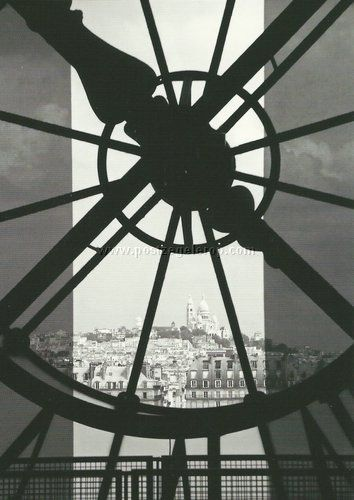 Paris - Sacre coeur from Orsay Museum. Love the view!