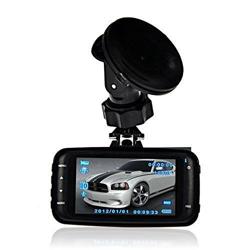FHD 1080P Car Black Box Night Vision GS8000L Vehicle Traveling Data Recorder Car DVR On Dash Cam with G-sensor Vehicle Camera Video Recording Driving Recorder Built-in Mic and Speaker. FHD standalone driving recorder with 2.7-inch LCD display. Built-in Mic and Speaker. Incident Detection (G-Sensor) automatically saves footage of collisions and incidents. Marking the emergency accidents and keep the video files from being overwritten. 4pcs Led night vision. 120° wide-angle 5.0MP CMOS…