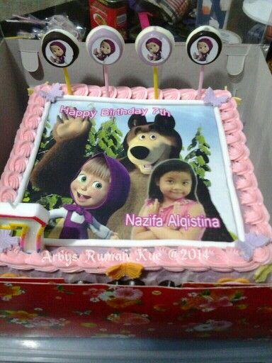 Marsha edible cake