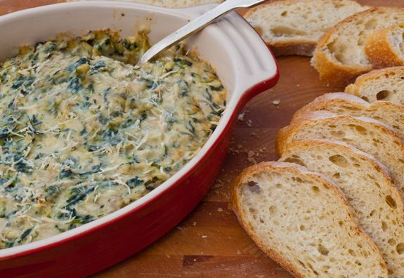 Baked Artichoke and Spinach Dip - Once Upon a Chef