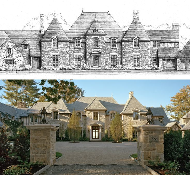 231 best dreamy homes images on pinterest exterior homes for French normandy house plans