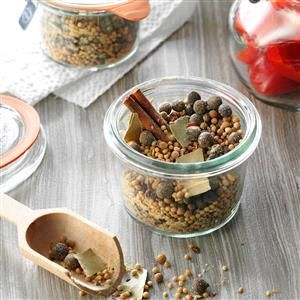 Homemade Pickling Spice Recipe -I can every year and I love to use this pickling spice for my pickles. Everyone says they are the best they have ever had. —Olivia Miller, Memphis, Tennessee