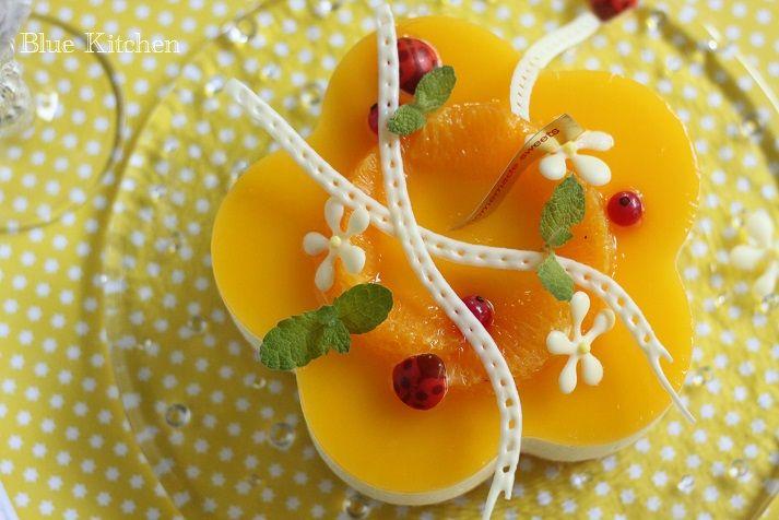 [ムース・ア・ロランジュ (Mousse à l'orange )](花型セルクル1台)