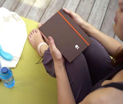 ヨガ手帳2014 ハヌマーン・ブラウン yoga diary