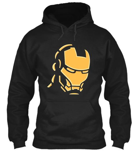 Iron Black T-Shirt Front