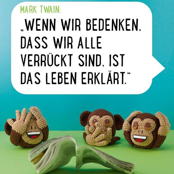 Liebe Freunde des guten Humors unsere #emoji-Affen wollen nichts hören nichts sehen und nichts sagen. Wir kennen bestimmt alle Momente in denen wir auch so reagieren wollen. Häkelt euch einfach euer eigenes #emojidiy - Damit könnt ihr euch vielerlei Worte sparen. Habt eine wunderbare Woche da #frechverlag #topp #diy #haekeln #crochet