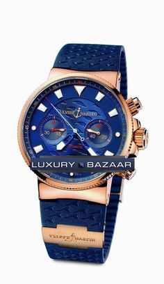 Ulysse Nardin Blue Seal Cronografo 356-68LE