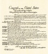 """""""Bill Of Rights"""" - the first 10 Amendments to the Constitution guaranteeing liberties and freedoms and further limiting the size and scope of the central government"""